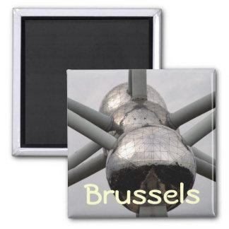Brussels Atomium Square Magnet