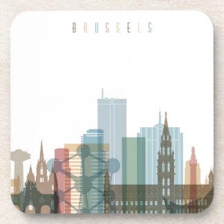 Brussels, Belgium | City Skyline Coaster