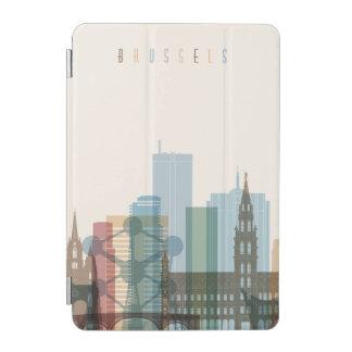 Brussels, Belgium   City Skyline iPad Mini Cover