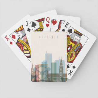 Brussels, Belgium | City Skyline Playing Cards