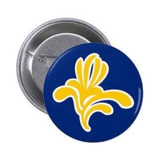Brussels Belgium Flag Buttons