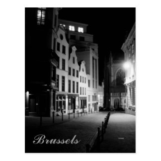 Brussels by Night Postcard