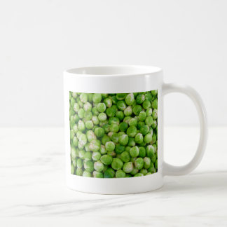 Brussels cabbage coffee mug