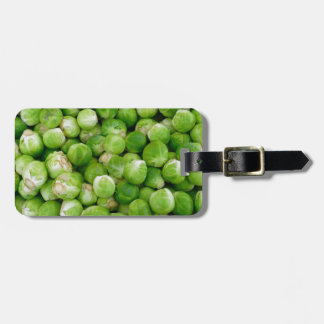 Brussels cabbage luggage tag