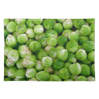Brussels cabbage place mats