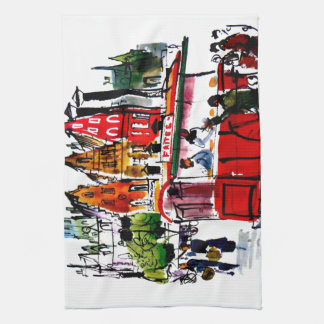 Brussels City Kitchen Towel