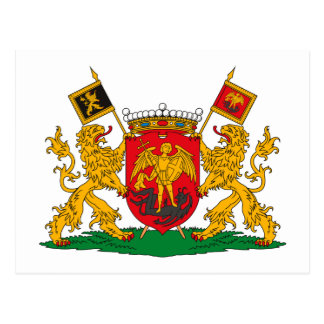 Brussels Coat of Arms Postcard