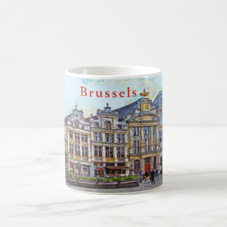 Brussels. Grand Place. Coffee Mug