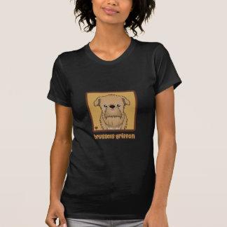Brussels Griffon Cartoon T-Shirt