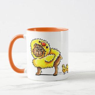 Brussels Griffon Chick Easter Mug