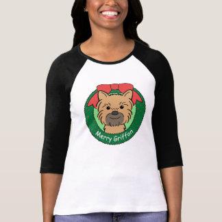 Brussels Griffon Christmas T-Shirt