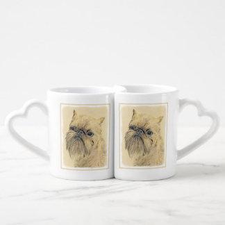 Brussels Griffon Coffee Mug Set