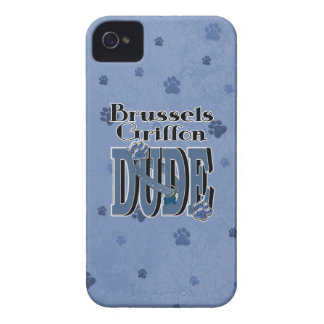 Brussels Griffon DUDE iPhone 4 Cases