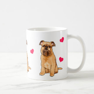Brussels Griffon Illustrated Coffee Mug