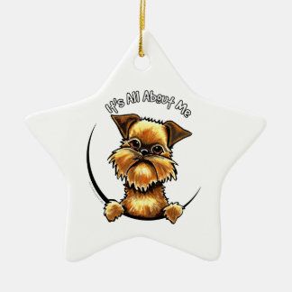 Brussels Griffon Its All About Me Ceramic Ornament