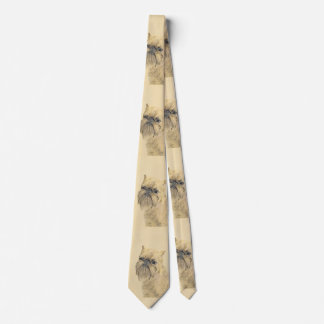 Brussels Griffon Painting - Cute Original Dog Art Tie