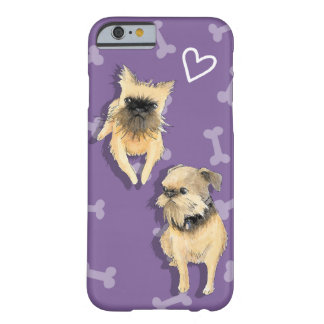 Brussels Griffon Pair Barely There iPhone 6 Case
