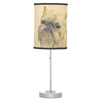 Brussels Griffon Table Lamp