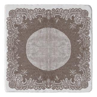 Brussels lace Trivet