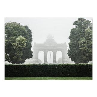 Brussels Mist Photographic Print