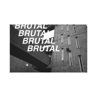 Brutal Estate Canvas