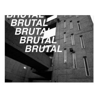 Brutal Estate Postcard