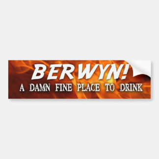"Brutal Muse ""BERWYN"" Bumpersticker Bumper Sticker"
