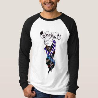 "Brutal Muse ""Chaos"" Long-Sleeve Raglan T-Shirt"