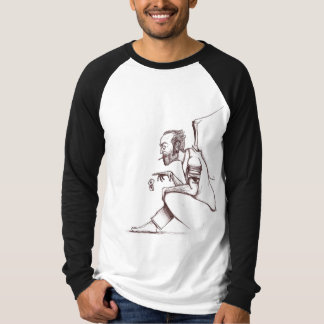 "Brutal Muse ""Michael"" Raglan Long Sleeve T-Shirt"
