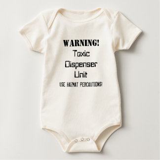 "Brutal Muse ""Toxic Dispenser Unit"" One-sy Baby Bodysuit"