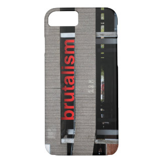 Brutalism Car Park iPhone case