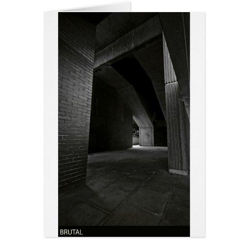 brutalism greeting cards
