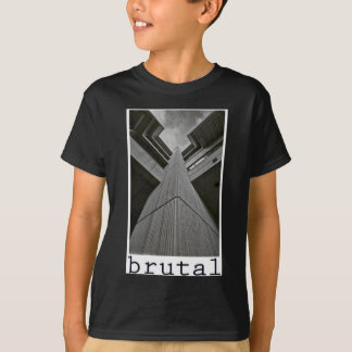 brutalism t shirt