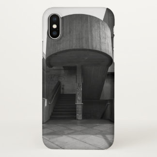 Brutalist Stairwell iPhone X Case