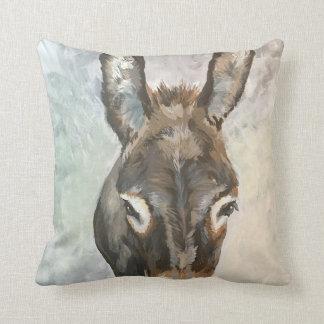 Brutus The Miniature Donkey Pillow