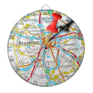 Bruxelles, Brussel, Brussels  in Belgium Dartboard