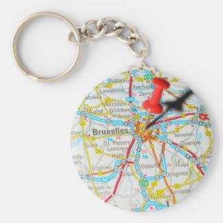Bruxelles, Brussel, Brussels  in Belgium Keychain