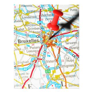 Bruxelles, Brussel, Brussels  in Belgium Letterhead