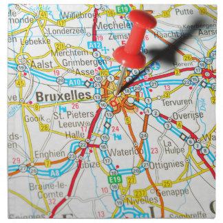 Bruxelles, Brussel, Brussels  in Belgium Napkin