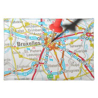 Bruxelles, Brussel, Brussels  in Belgium Placemat