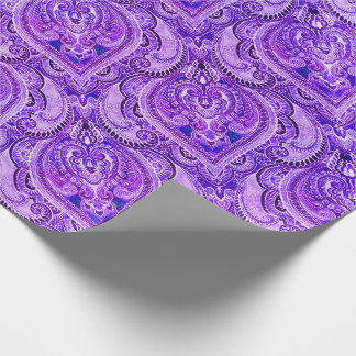 Bruxelles Grape Wrapping Paper