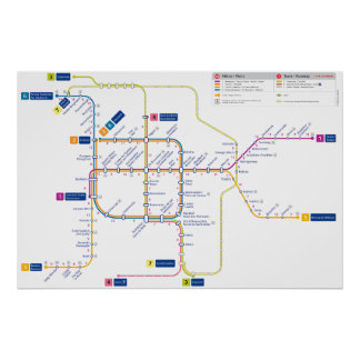 Bruxelles metro poster