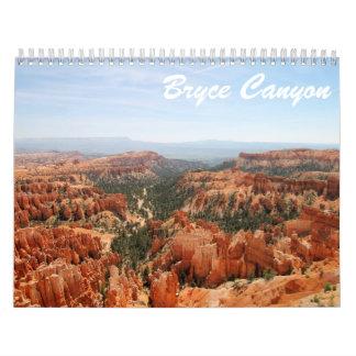 Bryce Canyon Calendar