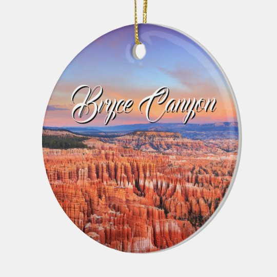 Bryce Canyon Ceramic Ornament