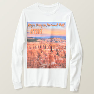 Bryce Canyon Desert Sunset Photo T-Shirt