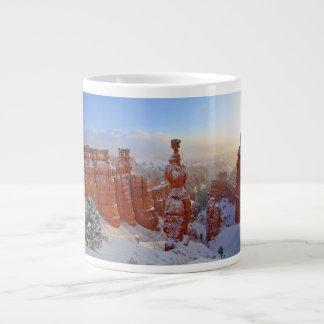 Bryce Canyon - Morning Snowstorm Large Coffee Mug