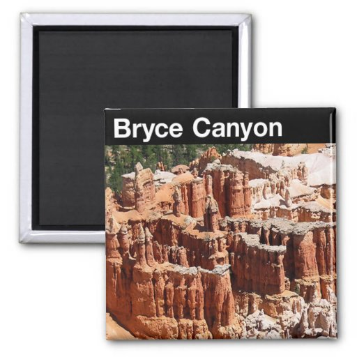 Bryce Canyon National Park Square Magnet