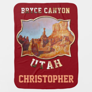Bryce Canyon National Park Swaddle Blanket