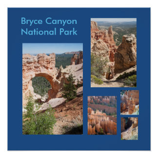 Bryce Canyon National Park Template Poster Perfect Poster