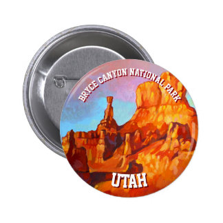 Bryce Canyon National Park - The Sentinel 2 Inch Round Button
